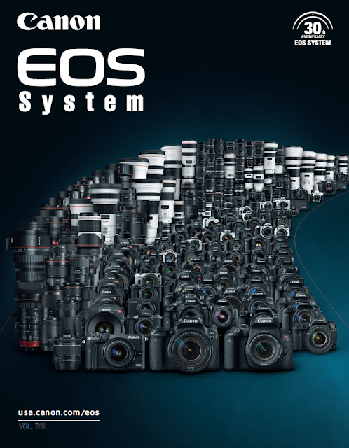 Download the Canon EOS Camera System PDF Brochure Vol 7.01