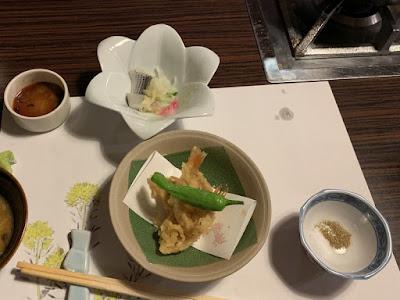 ノドグロの天ぷら