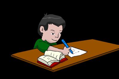 Ilustrasi mahasiswa menyelesaikan skripsi. Sumber : Pixabay.