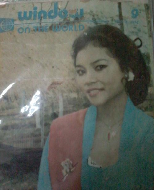 Ibuku Model Tahun 70 an