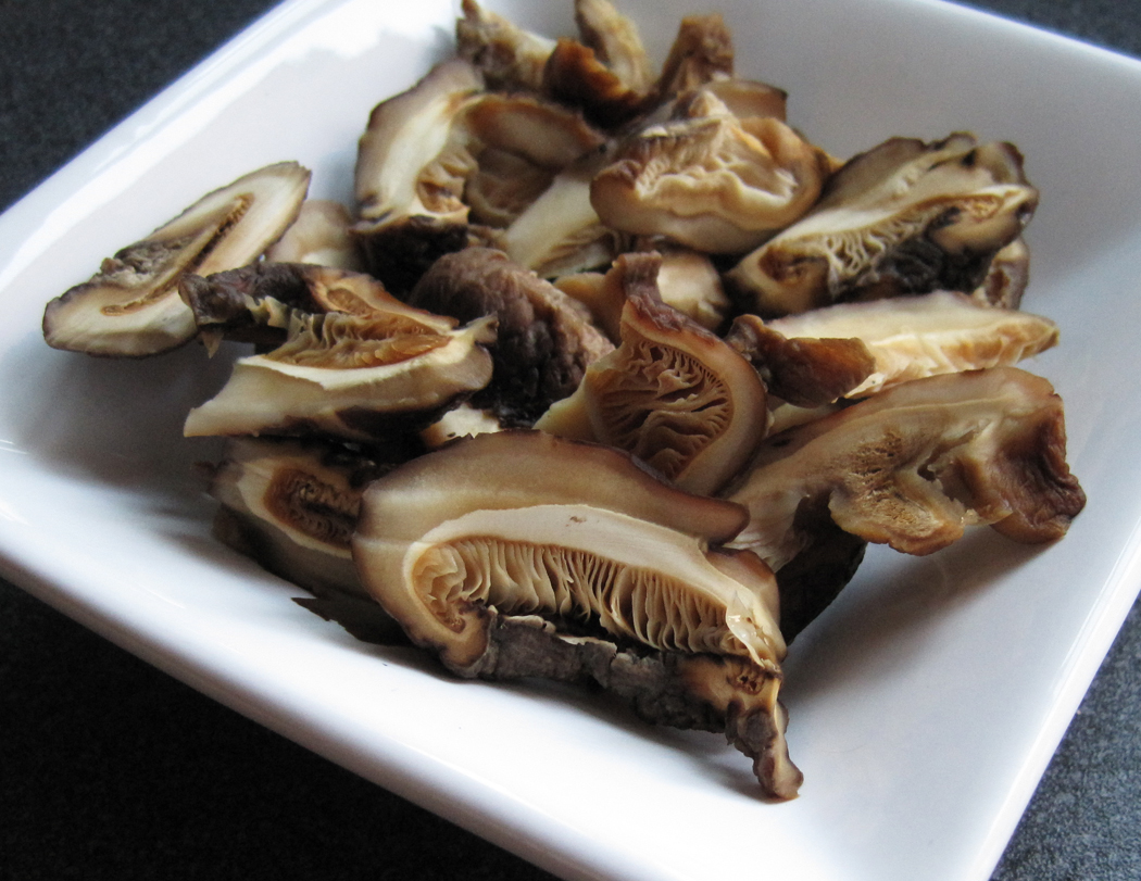 Rehydrated Chinese Dried Mushrooms