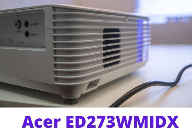 Acer ED273 back