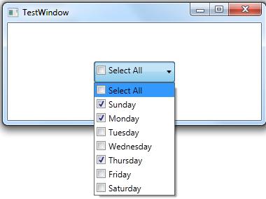 DotNet Developer Blog: WPF - Custom ComboBox