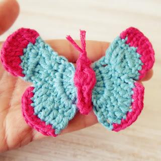 tutorial ahuyama mariposa crochet