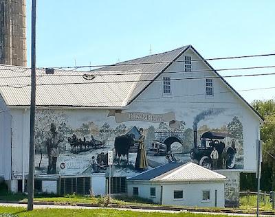 Beautiful Barn Wall Mural in Elizabethtown Pennsylvania