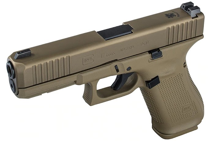 The army of Portugal buys Glock Coyote Tan G17 pistols
