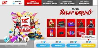 Event Lomba Balap Karung di Game Free Fire