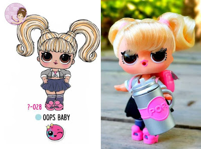 Oops Baby L.O.L. Hair Goals doll wave 1 as Britney Spears
