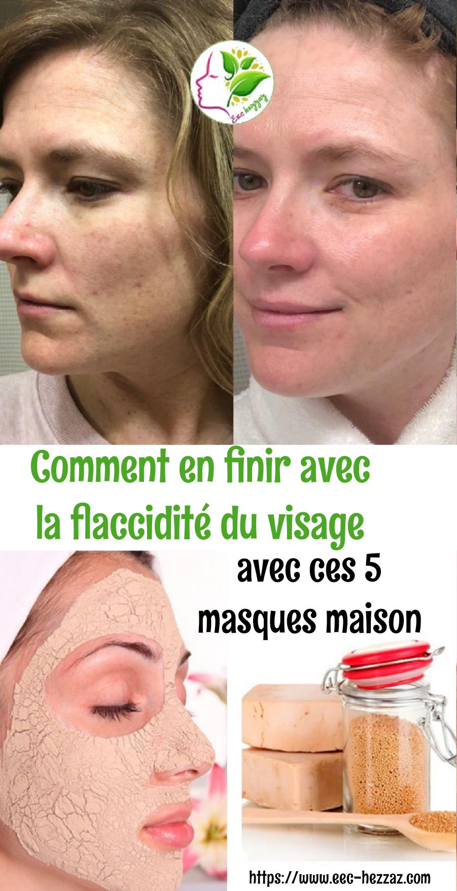 Comment en finir avec la flaccidité du visage avec ces 5 masques maison