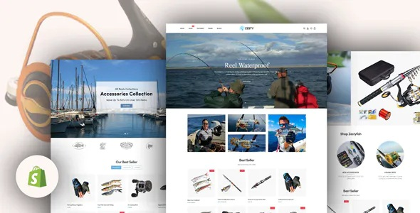 Best Fishing Shop Responsive Shopify Theme