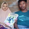 Mahar Sandal Jepit, Pemuda Ini Nikahi Seorang Gadis Cantik