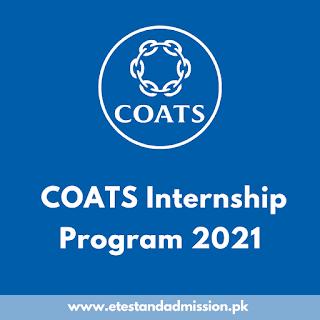 COATS Internship Program 2021