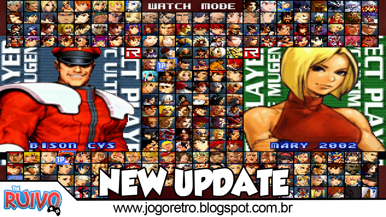 SvC Ultimate Mugen 2019 3rd Battle Edition ~ Blog do Ruivo - Games