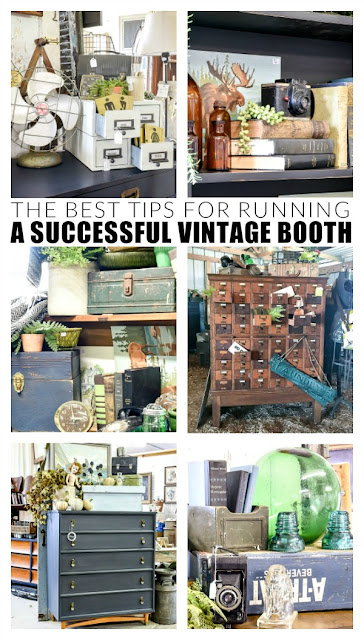 The best tips for running a successful vintage booth