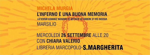Michela Murgia alla MarcoPolo-S.Margherita