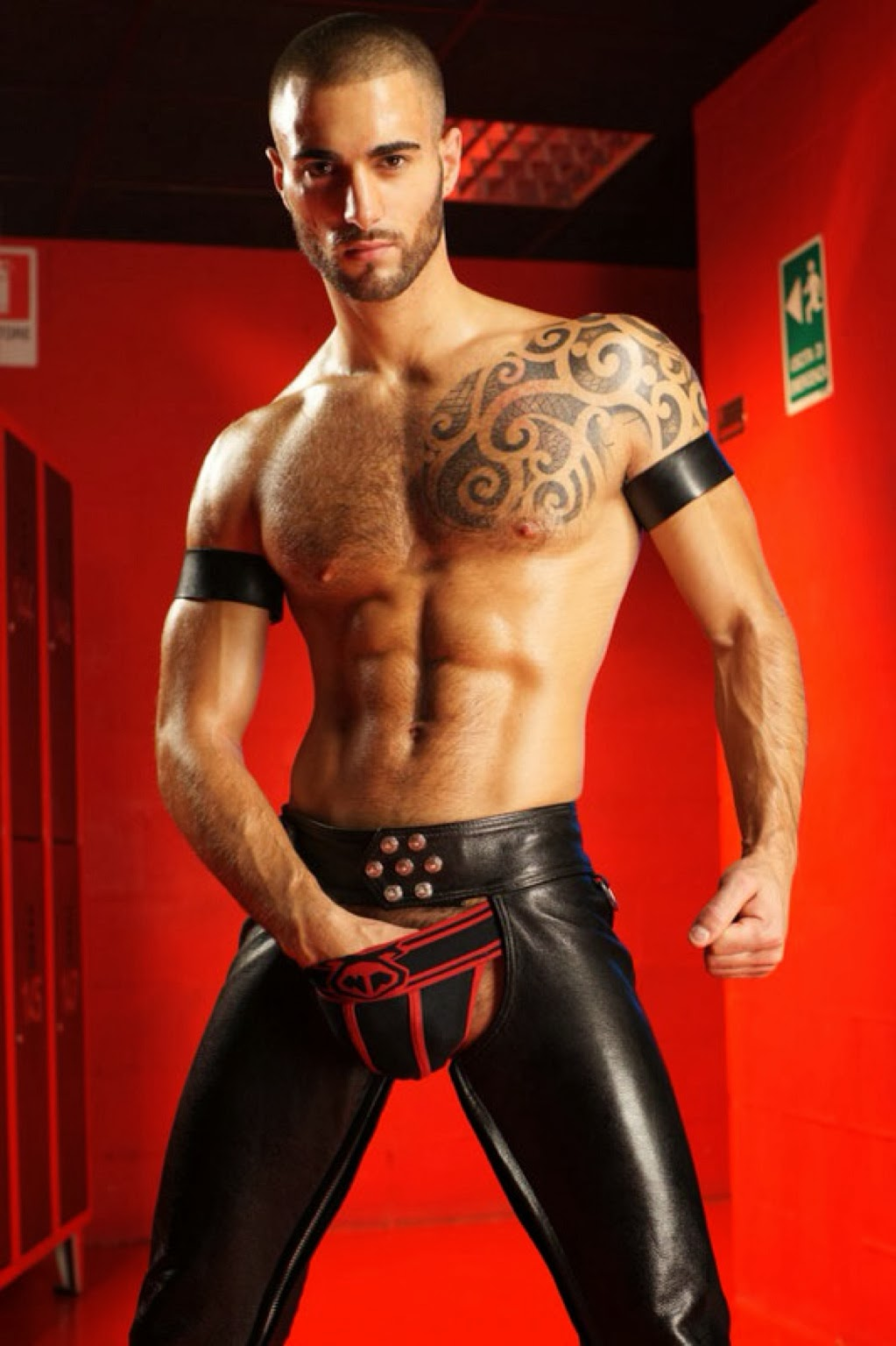 Wholesale Baggy Gay Leather Pants