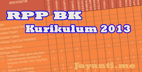 RPP BK SMA Kurikulum 2013