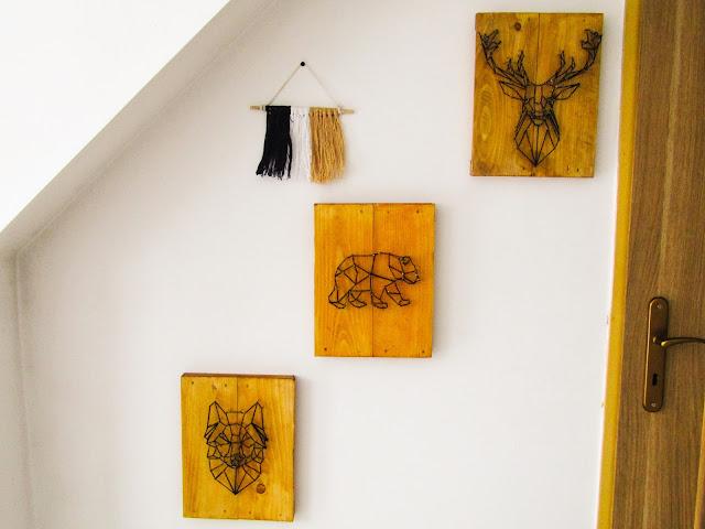 Do It Yourself: proste dekoracje ścian