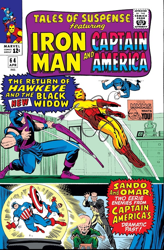 Cover of Tales of Suspense Vol 1 #64