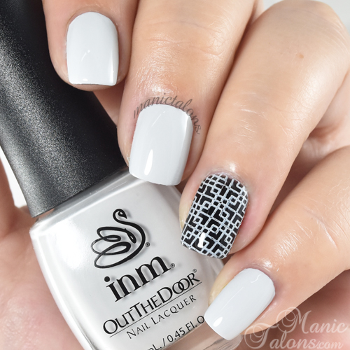 INM Out The Door Nail Lacquer Vanilla Zilla Swatch
