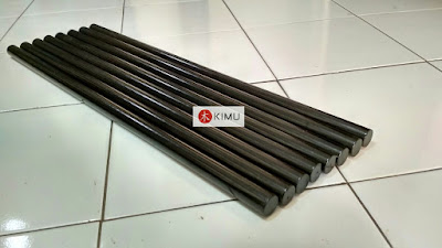KIMU Black Dragon Arnis Stick (Tongkat Arnis) - 73cm