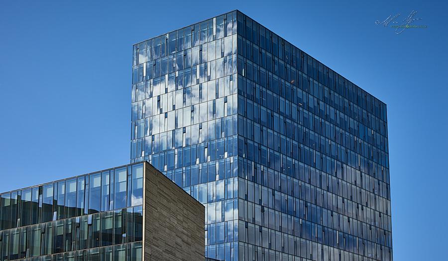 City buildings, Reykjevik