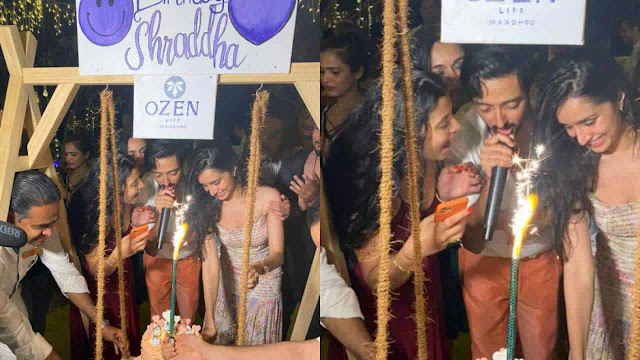 Photos of the day: Shraddha Kapoor gets cozy with rumored beau Rohan Shrestha at her birthday celebrations in the Maldives