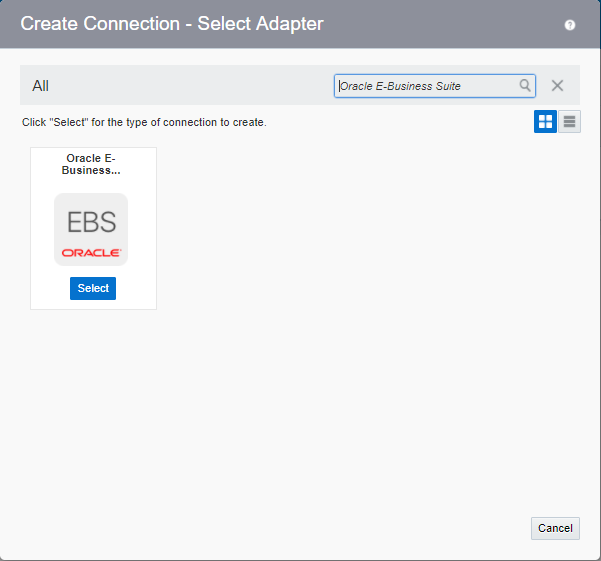 Ankur's blog: Oracle E-Business Suite Adapter in Oracle Integration