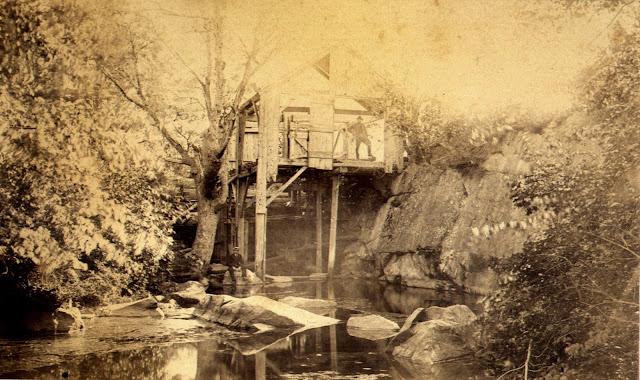Saw Mill Creek, Salisbury, Massachusetts, tidal mill