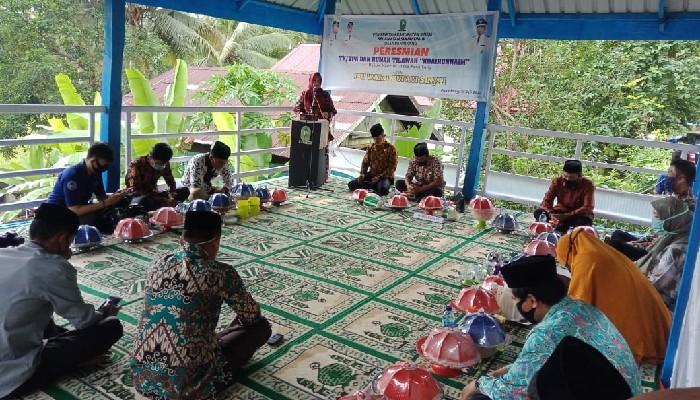 Dorong Pengembangan Keagamaan, Wabup Resmikan Rumah Tahfidz di Dusun Maccini