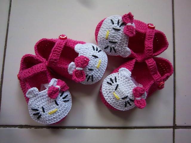 Sepatu Rajut Bayi Online Handmand Carter Perempuan