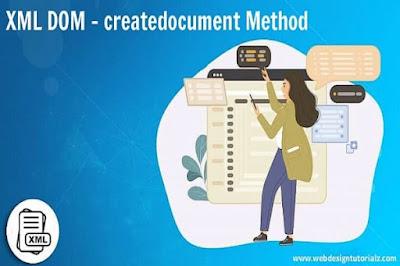 XML DOM - createdocument Method