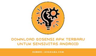 Download Gosensi Apk Terbaru Untuk Sensivitas Main Game Dijamin Auto Booyah