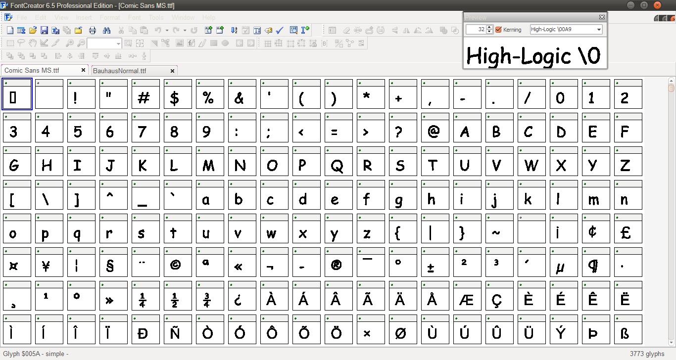 Tutorial Menambah Unicode di Font TTF (NEW) ~ My PPMod