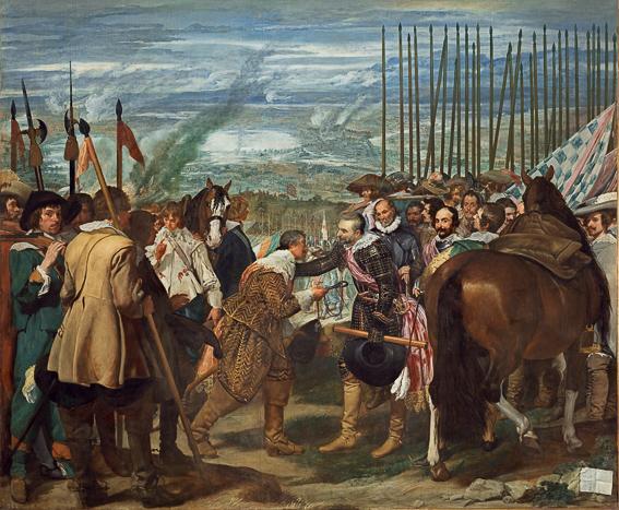 Las Lanzas Velazquez Museo Prado