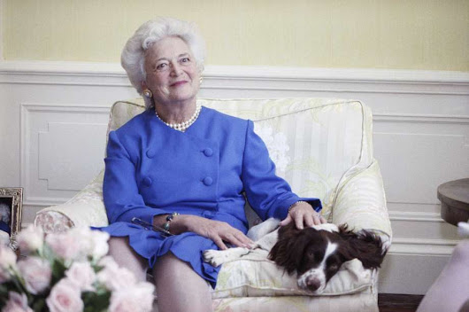 Barbara Bush, First Lady and First Mother, Merges With The Infinite