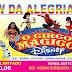 O Show da Alegria especial dia das crianças acontece neste domingo (06)