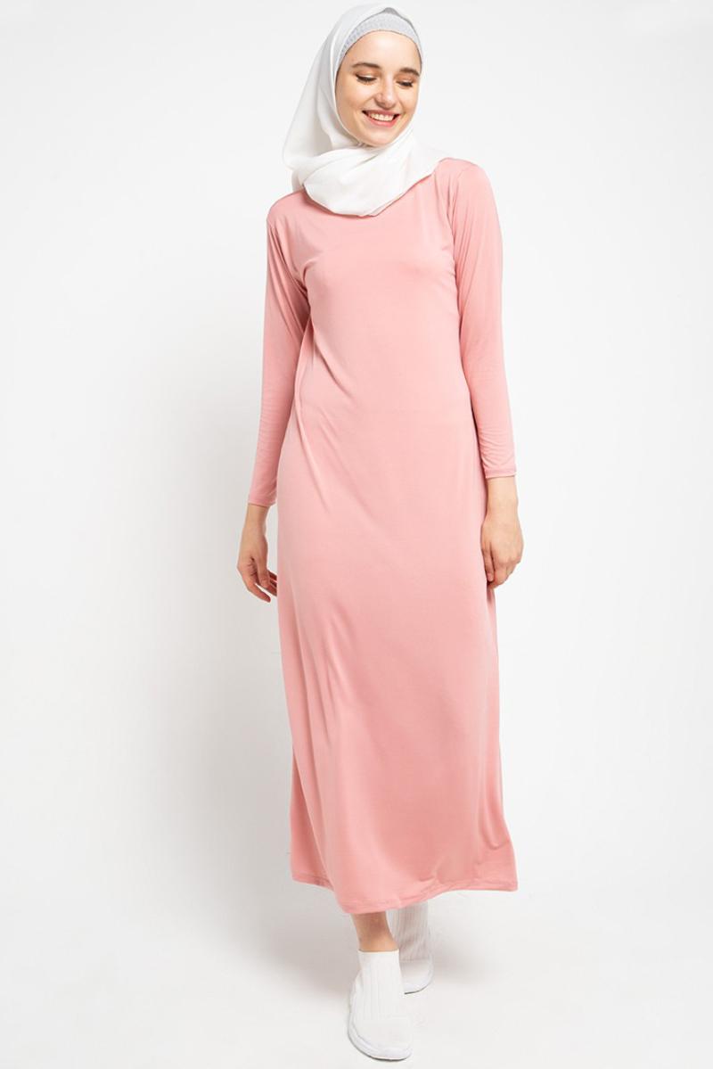 Trend baju lebaran terbaru tahun Dress Warna Pastel