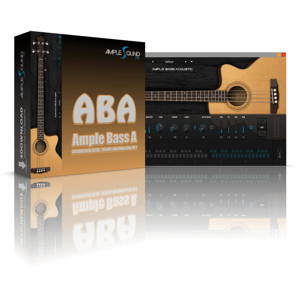 Ample Bass Acoustic III v3.3.0 Full version