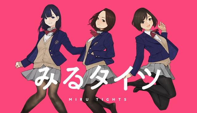 """Seiyuu Anime """"Miru Tights"""" menyanyikan lagu Ending"""