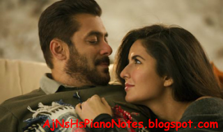 Dil Diyan Gallan Sargam Piano Notes from Tiger Zinda Hai