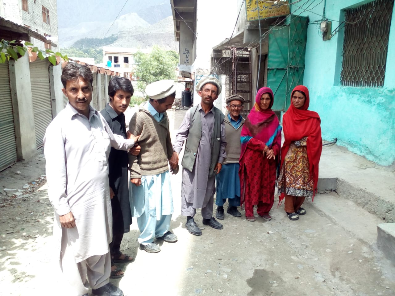 Aged father of 5 disabled children appeal for help in #Chitral