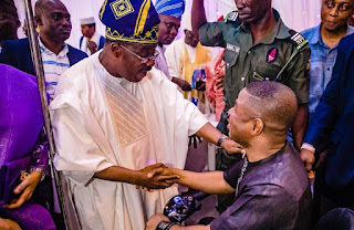 Governor Abiola Ajimobi and Yinka Ayefele