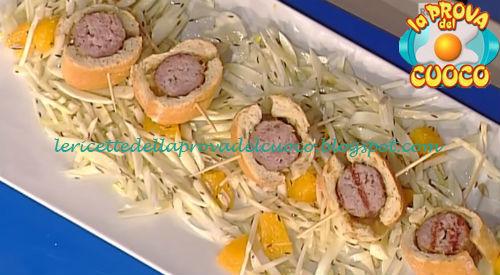 Salsiccia in crosta di pane ricetta Nonis da Prova del Cuoco