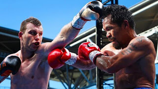 Manny Pacquiao and Jeff horn rematch