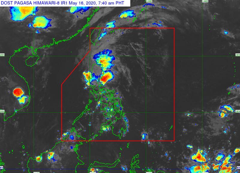 'Bagyong Ambo' PAGASA weather update May 16, 2020