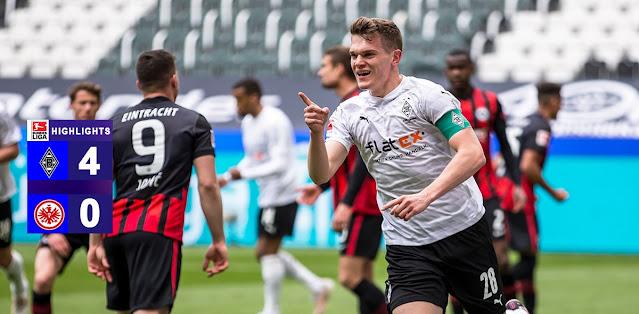 Borussia M'gladbach vs Eintracht Frankfurt – Highlights