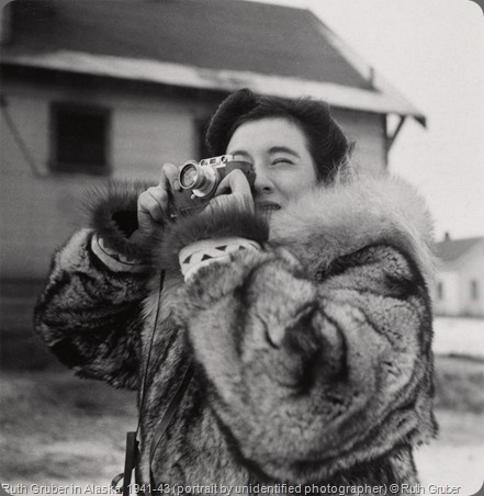Ruth Gruber in Alaska, 1941-43 (portrait by unidentified photographer)