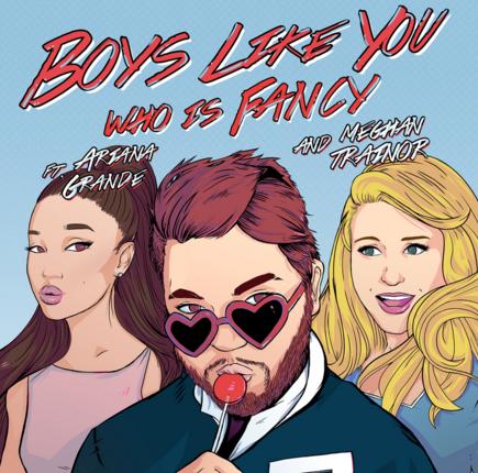 Boys Like You de who is fancy ft Meghan Trainor & Ariana Grande 3