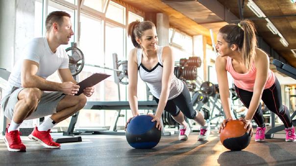 Consigue refuerzos fuerza entrenar